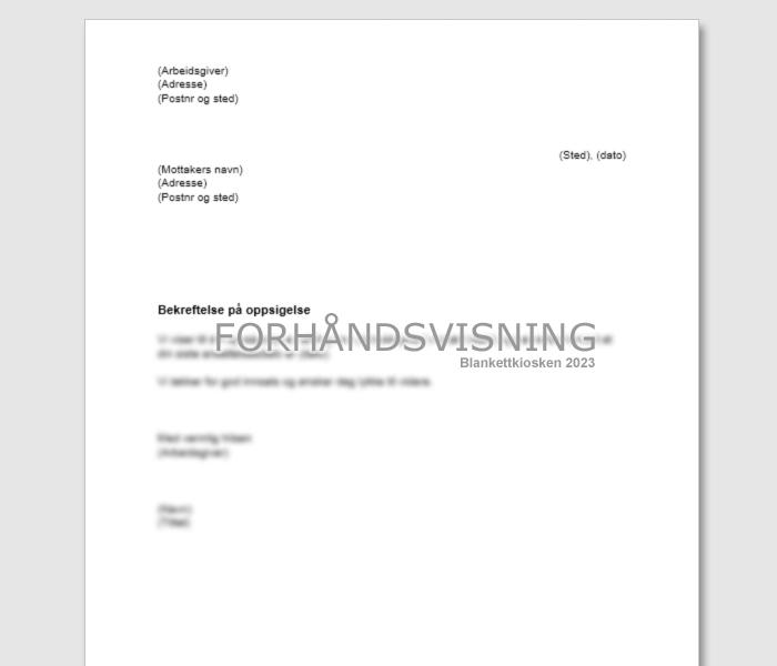 husleiekontrakt for leilighet